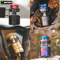 Original Wotofo Profile Unity RTA Tank 25mm RTA Atomizer 0.18ohm A1 Mesh Vape Tank For 510 Thread Electronic Cigarette Mod