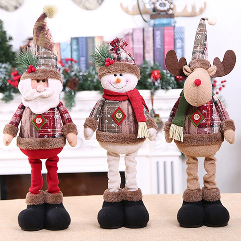 2021 рождественские украшения, рождественские куклы, инновационный лось, санта, снеговик, украшение на окно, новогодние и рождественские укра...