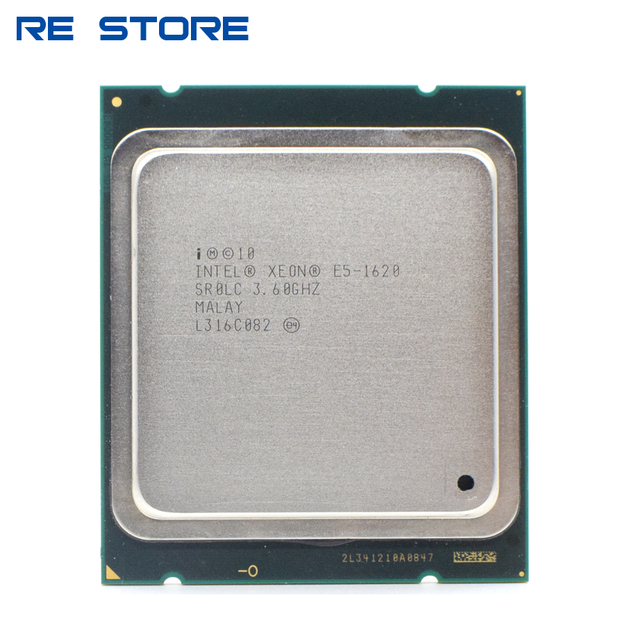 used Intel Xeon e5 1620 server Processor Quad Core 3.6GHz 130W LGA 2011 10M Cache SR0LC CPU|CPUs| - AliExpress
