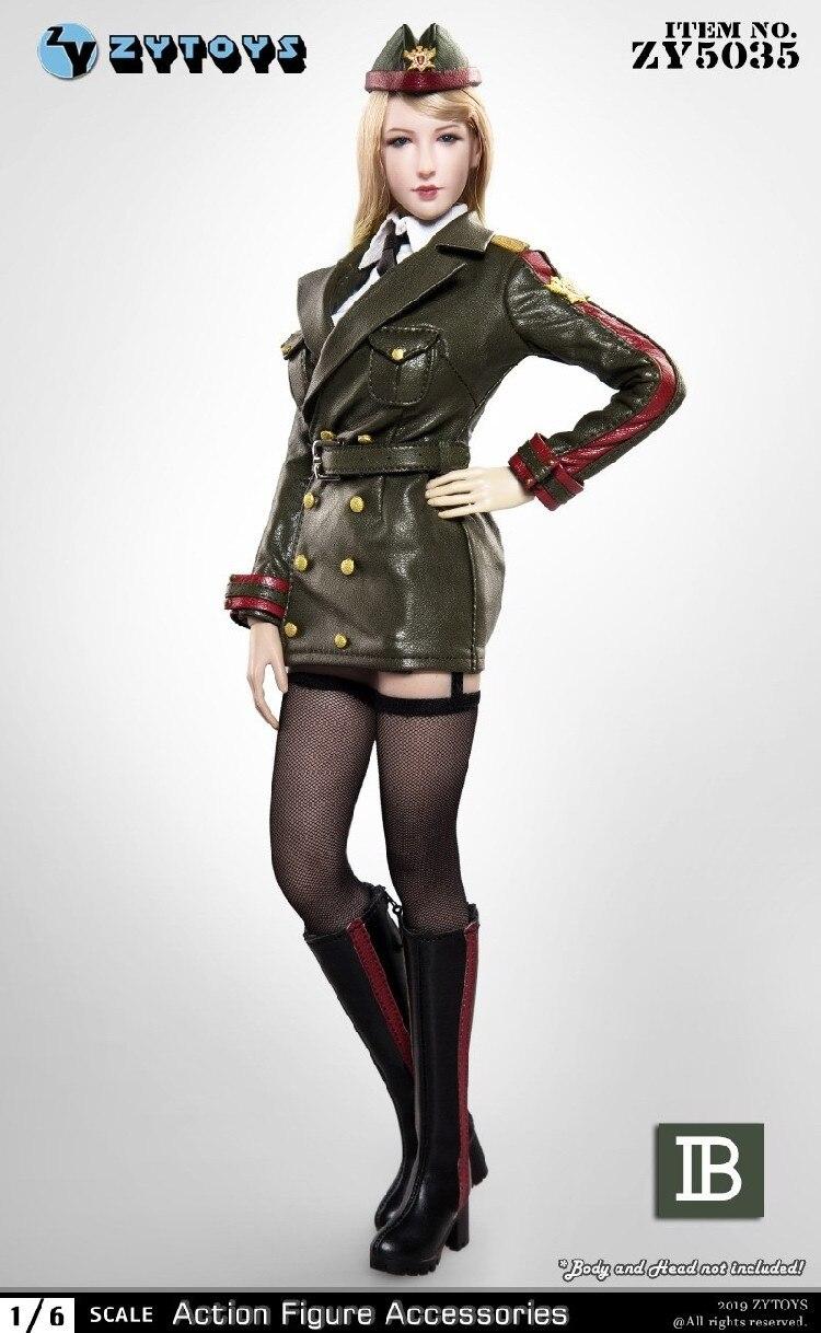 nice CJG005 Military police uniform 1//6 female hot action figure toys dress suit