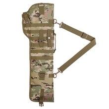 Tactical Rifle Shotgun Scabbard 29 inch Molle Protective Shotgun Case Shoulder Sling Holster Military Army Gun Bags