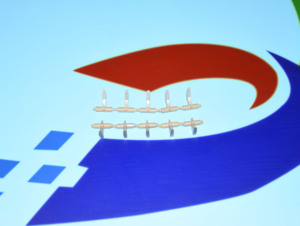 Image 4 - פיקר אצבע עבור Kyocera KM2810 KM2820MFP FS1030 FS1130 FS1035 FS1028 2HS25460 10 סטים להרבה