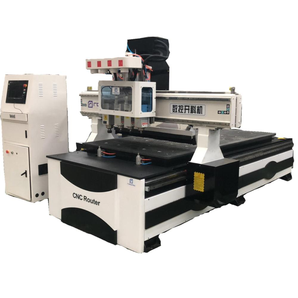 China Wood Cutting Milling 1325 Cnc Router For Cabinet Furniture Engraving Machine With Auto Tool Change Woodworking Cnc Machine
