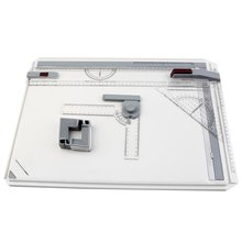 Drawing-Board Draft A3 with Parallel Rulers Corner-Clips Head-Lock Adjustable Angle-Art