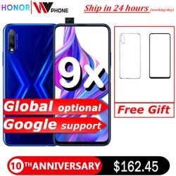Honor 9x Smart Phone Kirin 810 Octa Core da 6.59 Pollici di Sollevamento a Schermo Intero 48MP Dual Camera 4000 Mah Gpu Turbo del Telefono Mobile