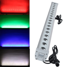 RGBW Impermeable Pared Lavado 18x12w Stage Lighting Effect Professional amp DJ DMX Noenname_Null Led Strip Solor Outdoor cheap DMX Stage Light 200W Professional Stage DJ
