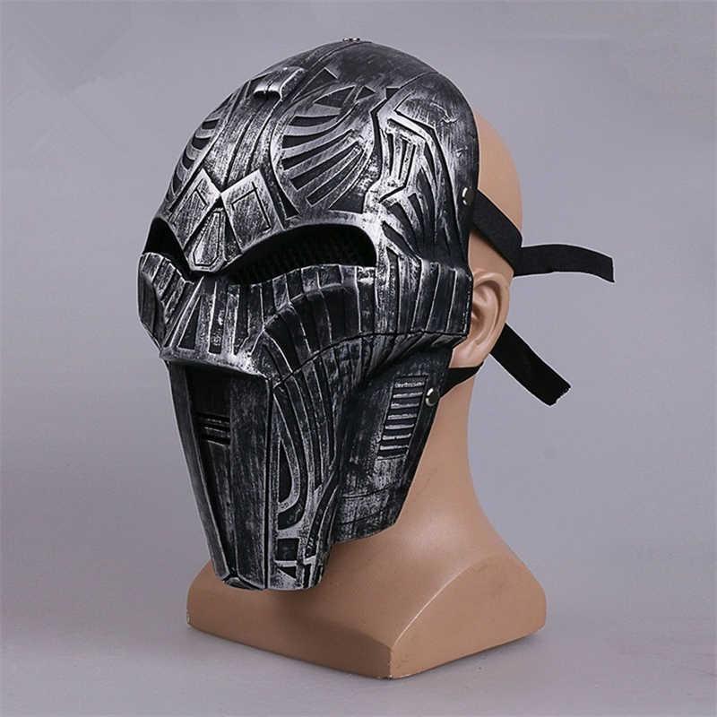 Sith Acorn Squash Cosplay Masker Helm Halloween Resin Masker Props