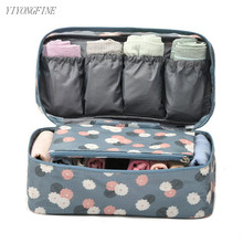 Polyester Travel Packaging Cubes Women Bra Storage Bag Underwear Organizer Female Accessories Personal
