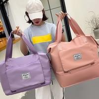 Frauen Schulter Taschen Mode Weibliche Reise Handtasche Faltbare Große Kapazität Shopping-Pack Wasserdicht Oxford Multi-Taschen Tote