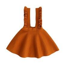 2020 neue Baby Mädchen Pullover Kleid Kind Herbst Kleid Kinder Stricken Overalls Kleid Pullover Kleinkind Jumper Kleinkind Winter, #2339
