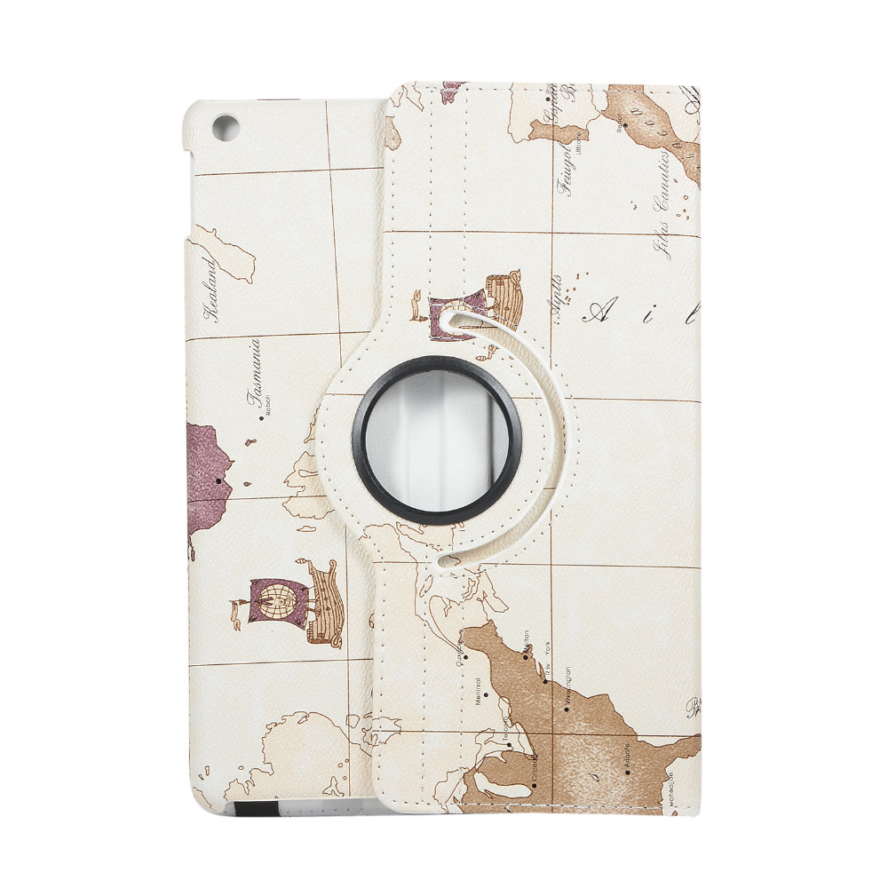 for Rotating-Case A2197 Film--Pen Wake Apple Cover 360-Degree 7th-Generation Wake iPad