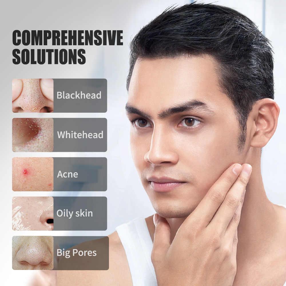 JVR Maschera nera per la cura della pelle del viso Maschere facciali di carbone di bambù di bambù Rimuovere punti neri Maschera peeling all'acne Naso facciale Pulizia profonda