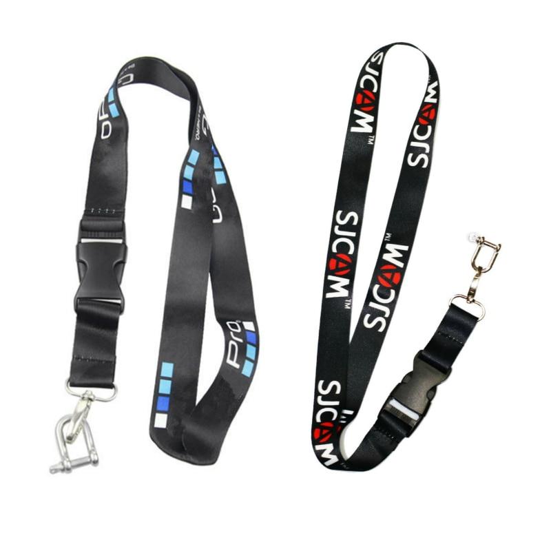 Аксессуары для спортивной камеры веревка для Gopro hero 9 8 7 6 5 4 3 Sjcam шейный ремешок шнурок с быстроразъемной пряжкой go pro Аксессуары