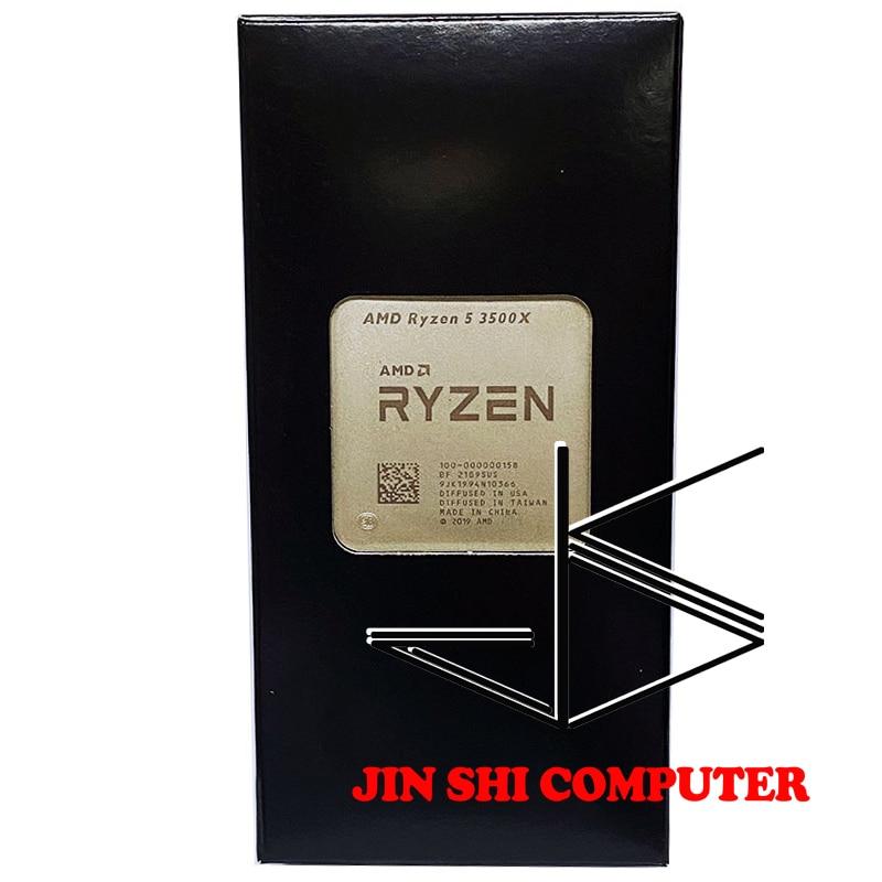Бесплатная доставка процессор AMD Ryzen 5 3500X R5 3500X 3,6 ГГц шестиядерный шестипоточный процессор 7 нм 65 Вт L3 = 32M 100-000000158 разъем AM4