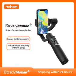 Hohem iSteady Mobile Plus Phone Gimbal with Sport Mode 3-Axis Handheld Stabilizer for iPhone 11 X 8 7 & Huawei & Xiaomi