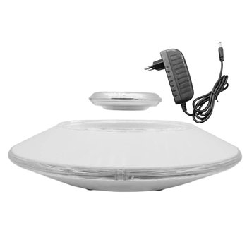 Magnetic Suspension Flying Saucer Showing Shelf Carrying Weight 450g 650g 800g Upper Suspension LED Round Display Stands