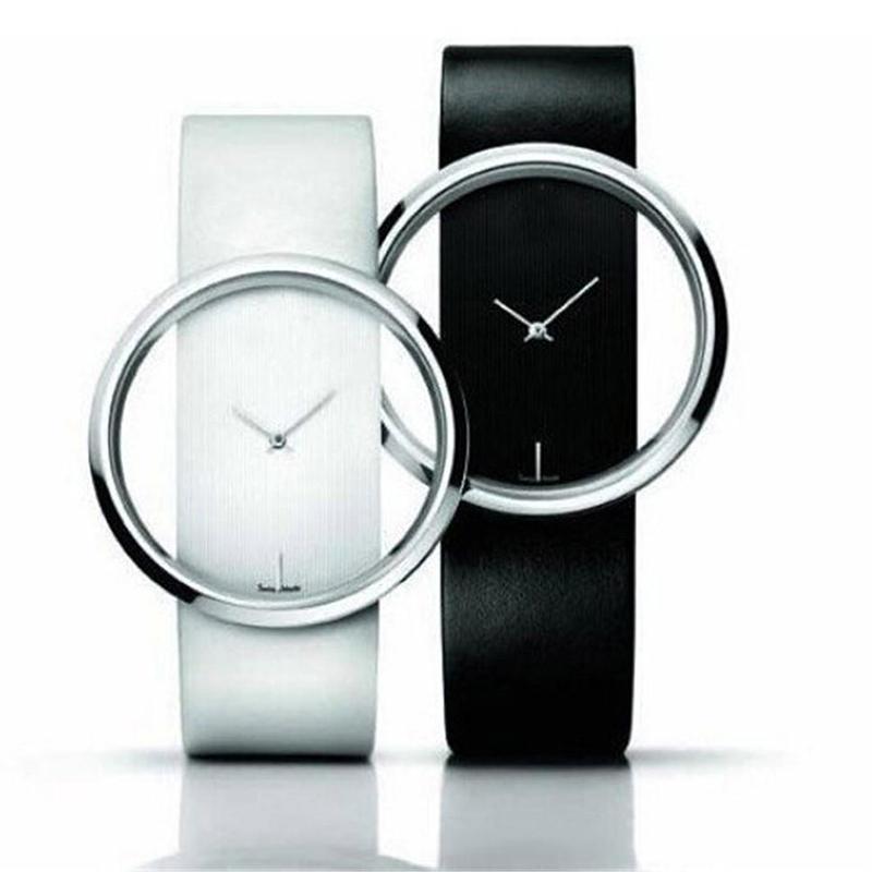 2 Pcs Couple Watch Men Women Lovers Couple Leather Wristwatch Couple Gift For Men Women Watch Reloj Mujer Relogio Feminino Clock