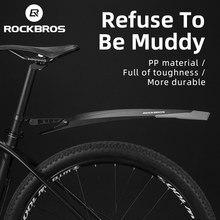 ROCKBROS-guardabarros trasero y delantero para bicicleta de montaña, accesorio para ajustar cualquier ángulo