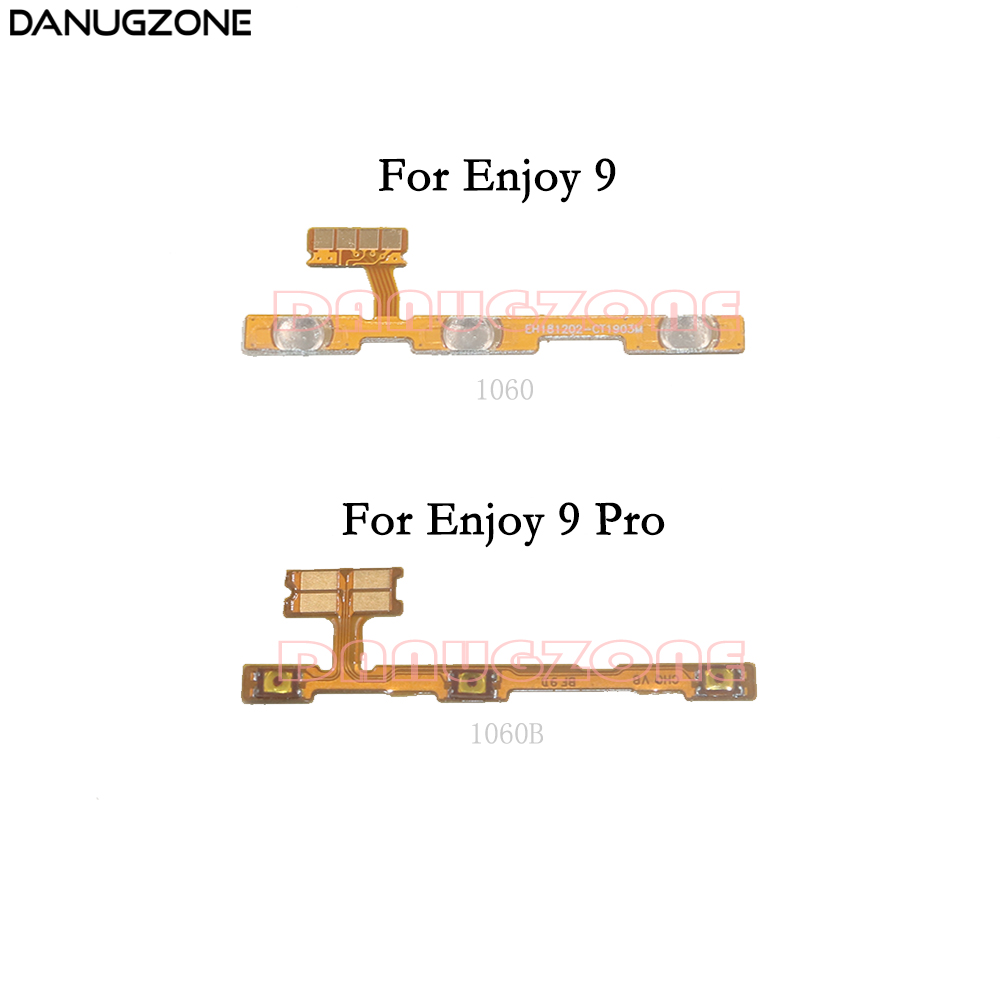 Power Button Switch Volume Button Mute On / Off Flex Cable For Huawei Enjoy 9 / 9 PRO / Y7 2019