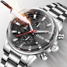 Modne zegarki kreatywne męskie męskie zegarki zegarki luksusowe męskie zegarki sportowe wodoodporne biznesowe luksusowe reloj mujer bayan tanie tanio 20cm Moda casual QUARTZ 3Bar Przycisk ukryte zapięcie CN (pochodzenie) Stop Szafirowe Papier STAINLESS STEEL ROUND Odporny na wstrząsy