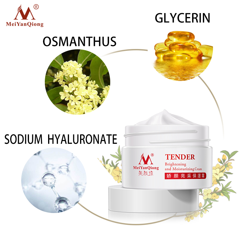 Moisture Cream  Skin Care Face Lift Essence Tender Anti-Aging Whitening Wrinkle Removal Face Cream Hyaluronic Acid 3