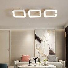 Brun moderne Led plafond lustre lampe Lampara de techo lustre éclairage pour salon chambre lustre cristal lampadario