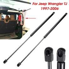 Traseira do carro tronco bagageira janela de vidro bota choque elevador struts suporte barra haste mola gás para jeep para wrangler tj w/ hardtop
