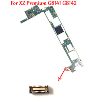 にマザーボード充電ポート充電ドックフレックスケーブル FPC コネクタプラグソニーの Xperia XZ プレミアム G8142 G8141 XZP