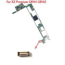 Op Moederbord Charger Poort Opladen Dock Flex Kabel FPC Connector Plug Voor Sony Xperia XZ Premium G8142 G8141 XZP