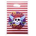 Пакеты для пиратской вечеринки, 20 шт./лот, для маленьких мальчиков и девочек, товары для вечерние ринки на день рождения, украшения для пират...