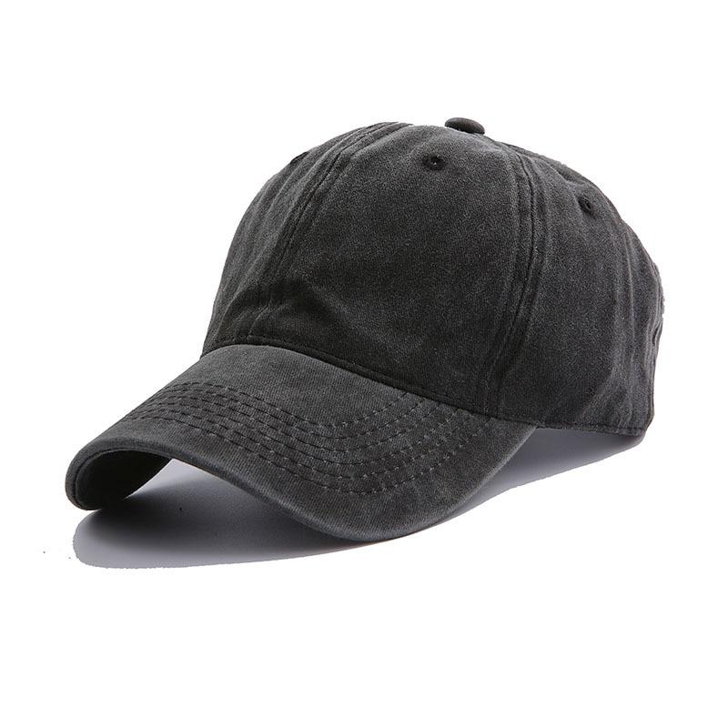 Solid Spring Summer Cap Women Ponytail Baseball Cap Fashion Hats Men Baseball Cap Cotton Outdoor Simple Vintag Visor Casual Cap 15