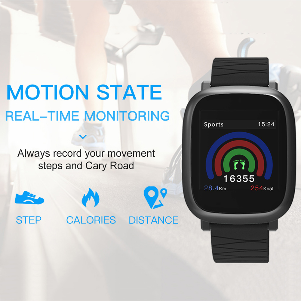 Blood Pressure Monitor Tracker Bluetooth Waterproof Kids Heart Rate Sleep Step Counter Adult Smart Watch Activity Anti Lost M30