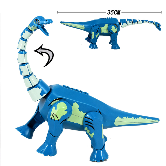 Jurassic Dinosaur World 2 Velociraptor mini Park Dino Figure Building Blocks Bricks Compatible with Toys For Children 2
