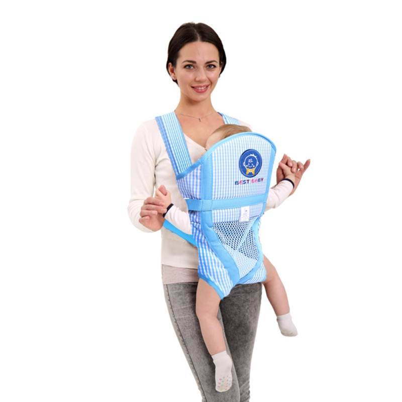 Infant Kid Baby Carrier Hipseat Sling Front Facing Kangaroo Baby Wrap Carrier For Baby Travel S