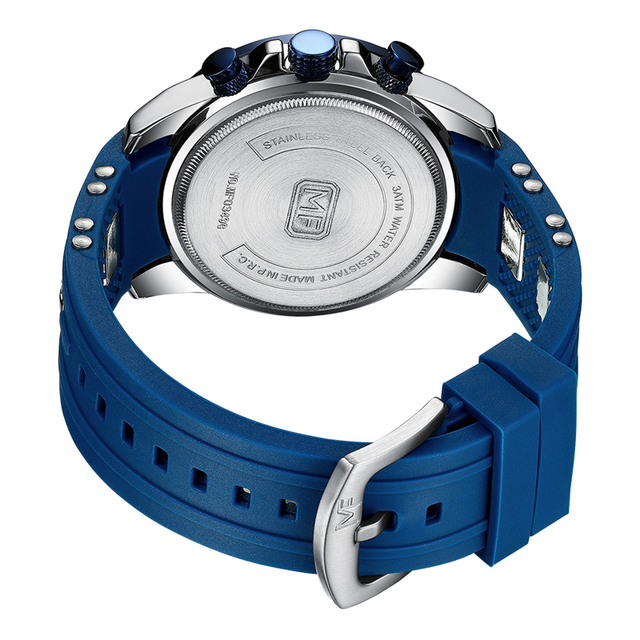 MINI FOCUS Luxury Brand Watch Men Waterproof Fashion Sport Clock Mens Wristwatches Quartz Black Silicone Relogio Masculino 2020