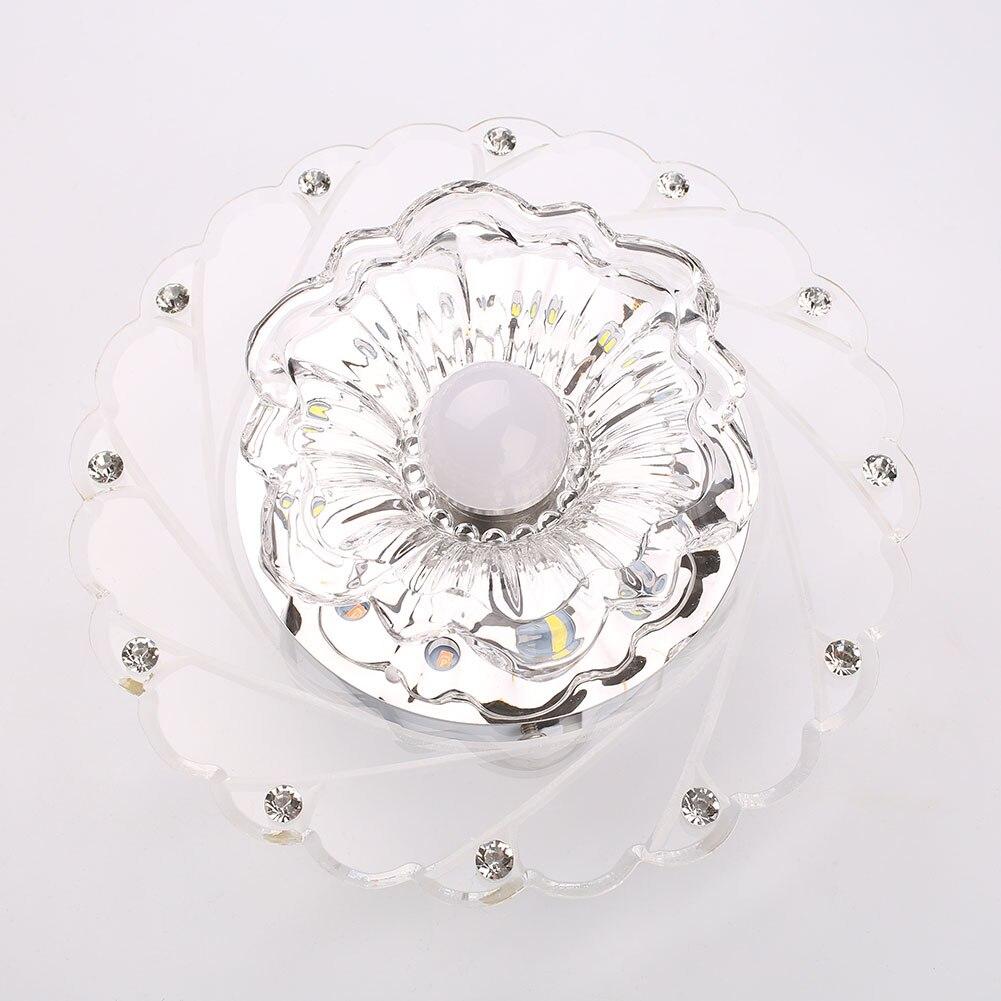 Chandelier Crystal Colorful Ceiling LED Pendant Light Lights Lighting Decor Modern Home Lamp Fixture