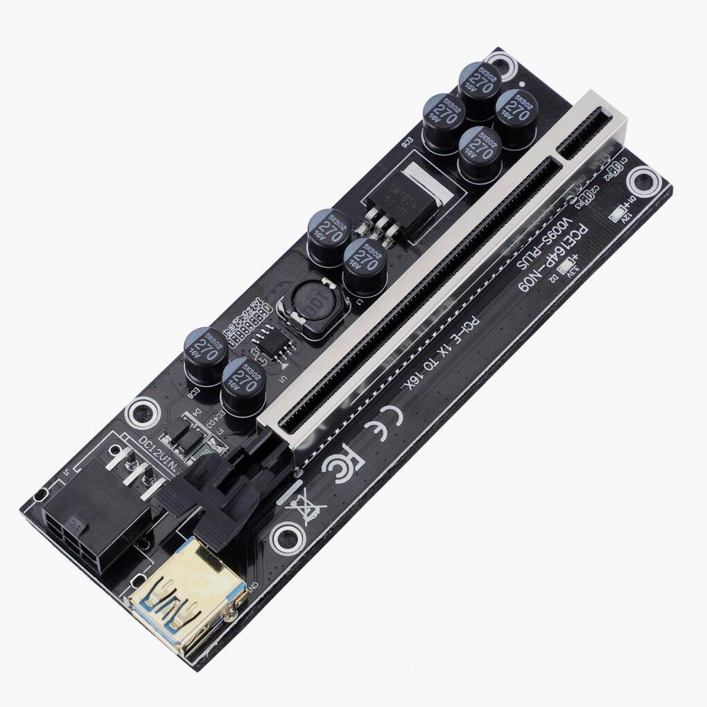 usb 3.0 cabo 6pin power para mineração de mineiro bitcoin