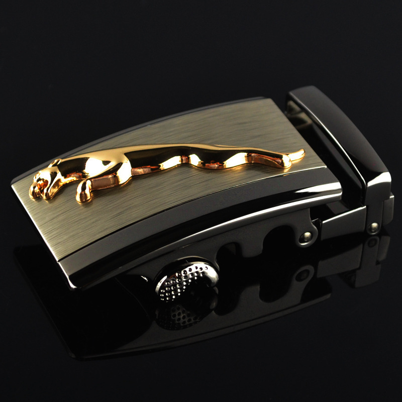 Genuine Men's Belt Head,Belt Buckle, Leisure Belt Head Business Accessories Automatic Buckle Width 3.5CM Luxury Belts LY136-0509