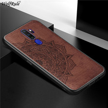 For OPPO A9 2020 Case OPPO A5 2020 Bumper TPU Frame Cloth Fabric Back Cover For OPPO A9 2020 Phone Cases For OPPO A11X 6.5''