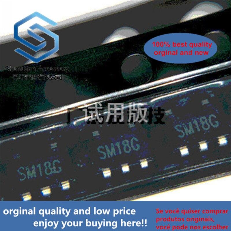 10pcs 100% Orginal New LR1106G-1.8V LDO Regulator IC SOT-153 23-5