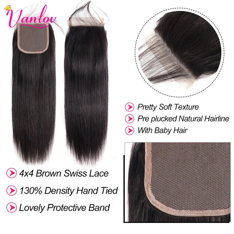 Straight Hair Bundles With Closure Brazilian Hair human  Weave Bundles With Closure Jet Back Human Hair Bundles With Closure Remy Hair