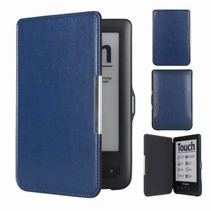 Чехол-книжка Touch Lux2 с открывающимся карманом для книги Pocketbook 623 622 чехол для электронной книги