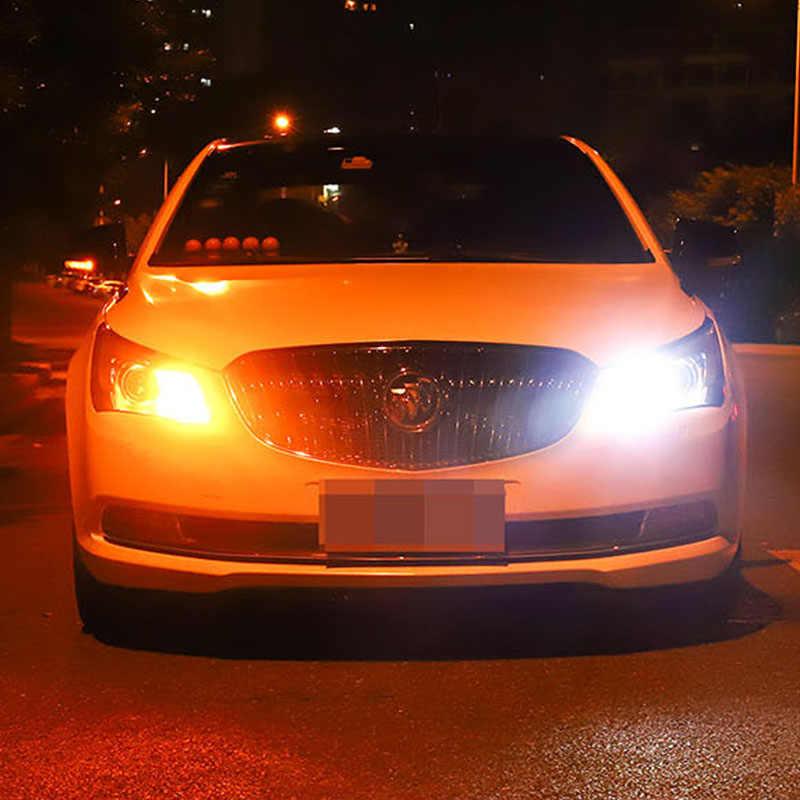 Canbus DRL LED P21W PY21W BA15S BAU15S T20 7440 W21W T25 3156 3030 69LEDDual מצב בשעות היום ריצת אור תור אות אור DC12V