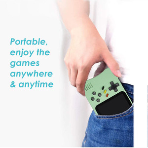 Image 3 - Video Game Console, Handheld Portable Console,  Built in 400 Retro Games, Support Double Player, Gift For Kids, 2020 New Upgrade