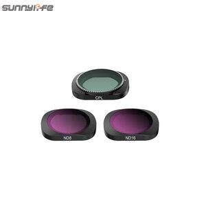 Image 4 - 3/4/6 Pcs Sunnylife FIMI PALM MCUV CPL ND ND4 ND8 ND16 ND32 Objektiv Filter Set Für FIMI PALM gimbal Kamera Zubehör