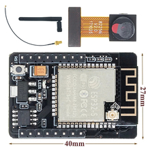 10PS ESP32 CAM Module WiFi ESP32 Nối Tiếp WiFi ESP32 Ban Phát Triển 5V Bluetooth OV2640 Mô Đun 2.4G IPEX RP SMA Ăng Ten WiFi