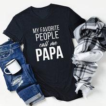 Мои любимые люди call me papa и i love рубашка смешные футболки