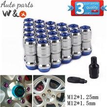Racing Wheel Hub Fastening Nut Tyre Fastening Nut M12*1.25 M12*1.5 Material Of Steel WHN-UN002