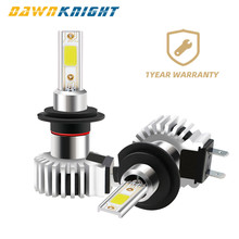 2PCS Direct installation H4 H7 H11 Led Bulb Powerful COB Chip 9005 9006 10000LM 72W Direct Installation Car Headlight Led Bulb(China)