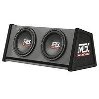 Mtx-caja reflex estrada trovão mtxrte12x2dv  2x12  700 w rms  cor negro